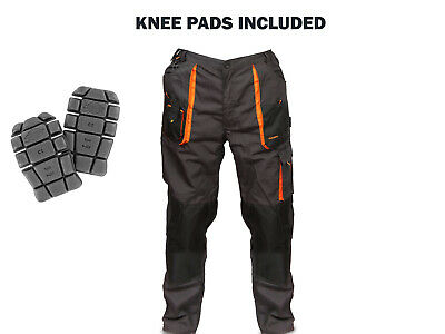 Mens Work Trousers With Knee Pads Included Combat Cargo Style with Free Delivery