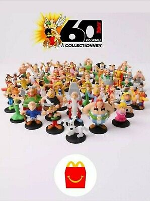 Collection Complete 60 Figurines Asterix 2019 Mc Donald Mc Do Happy Meal Neuf