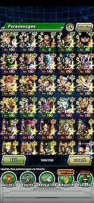 Compte Global Dokkan Battle 35 LR ( 21 Premium )
