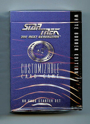 ONE x1 Voyager Star Trek CCG starter deck card Decipher sealed 1E NEW