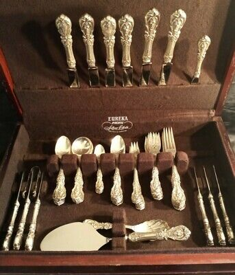 #magnificent FRANCIS 1ST By Reed & Barton sterling silver flatware set 2400grm