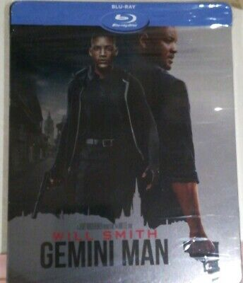 Gemini Man - Italian Only Limited Edition Steelbook Blu-Ray (Will Smith Ang Lee)