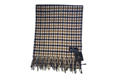 Aquascutum Scarf 100% lambswool BRAND NEW House Check Scarf