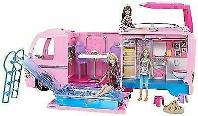 Barbie DreamCamper Adventure Camping Playset with Accessories brand new