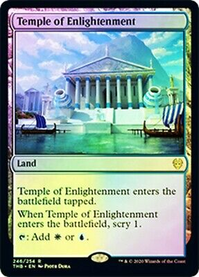 ***1x FOIL Temple of Enlightenment** MTG Theros Beyond Death THB MINT Kid Icarus