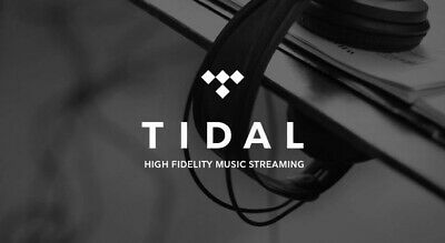 Tidal HiFi 6 Months - Personal & Private - Family Plan Included