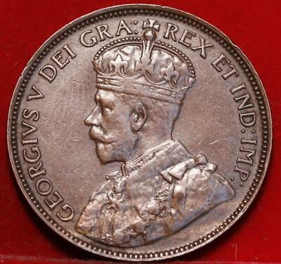 1917 Canada One Cent Foreign Coin