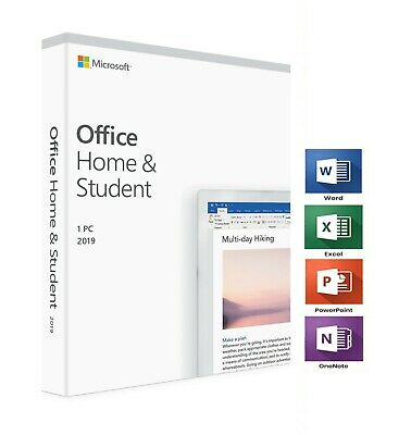 Microsoft Office Home and Student 2019 Lifetime (Windows Only) - Global