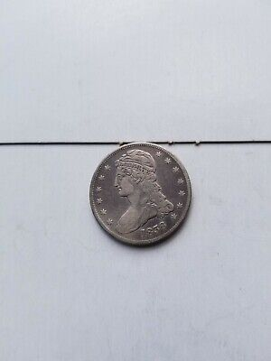 1838 Capped Bust Half Dollar 50C AWESOME SATIN FINISH REALLY COOL COIN SEE PICS!
