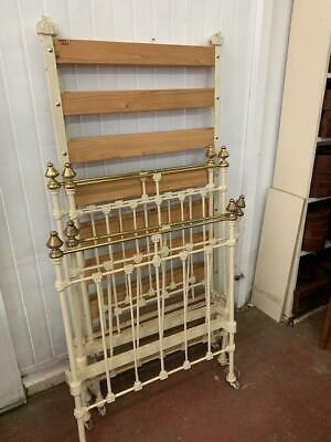 G8035 Vintage Cast Iron Single Bed 2 available