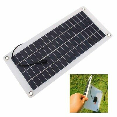 Hot 25W 12V Car Boat Yacht Solar Panel Trickle Battery Charger Outdoo Power New