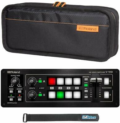 Roland V-1HD Portable 4 x HDMI Input Switcher with Roland CB-BV1 Carry Bag USED