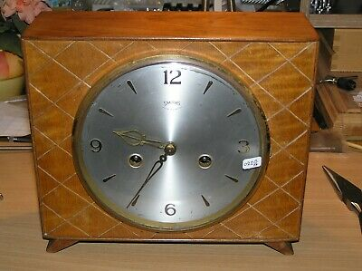 Smiths Enfield Slim Mantel Clock Floating Balance Clock Mantle (0220)