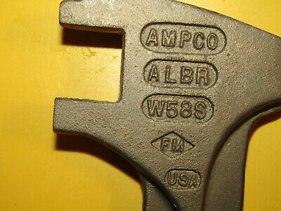 ampco drum wrench non spark NEW  #W58S
