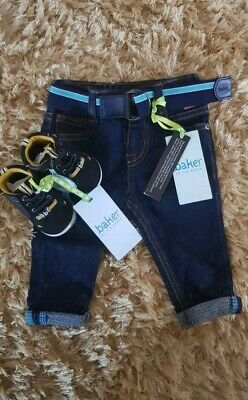 💙Boys Ted Baker Jeans and Trainers Bundle 3-6 Months New With Tags💙