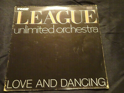 Human League Unlimited Orchestra Love And Dancing Original Lp Record 1981 Vinyl