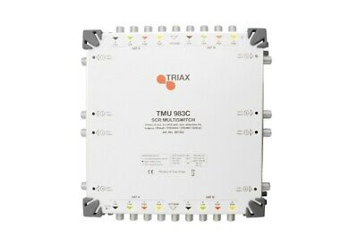 TRIAX TMU983C Unicable Multisch. 9/8 max.24 An
