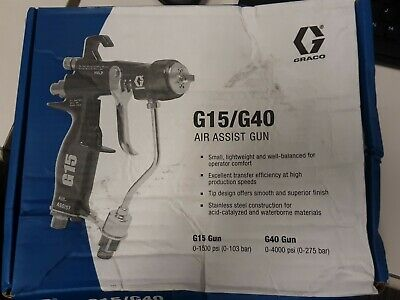 Graco G15 Air Assist Spray Gun