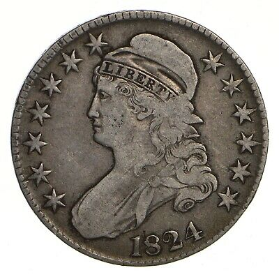 1824 Capped Bust Half Dollar - Circulated *2142