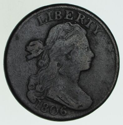 1806 Draped Bust Large Cent - Circulated *6040