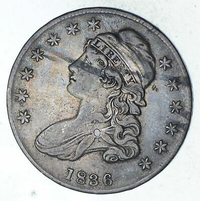 1836 Capped Bust Half Dollar - Circulated *9364
