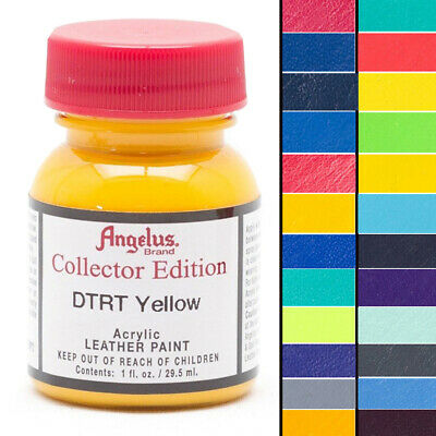 ANGELUS BRAND COLLECTOR EDITION ACRYLIC LEATHER SNEAKER PAINT 1oz ALL COLORS U-M