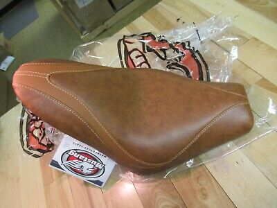 Mustang Sitze Runaround Fahrer Seat Solo Brown - Indisch Scout + Scout Sixty