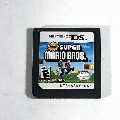 New Super Mario Bros Game Only For Nintendo DS 2DS DSI 3DS XL Tested