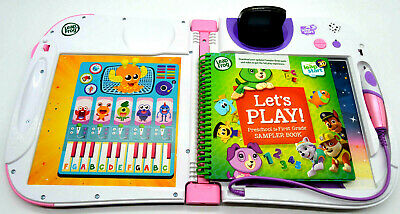 LeapFrog Leap Start 3D Interactive Learning System Purple/Pink with Starter Book