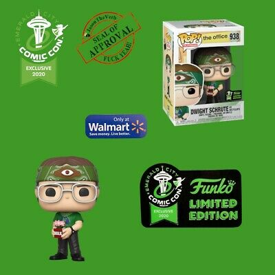 Funko Pop -  ECCC 2020 The Office Dwight as Recyclops Exclusive Shared Preorder