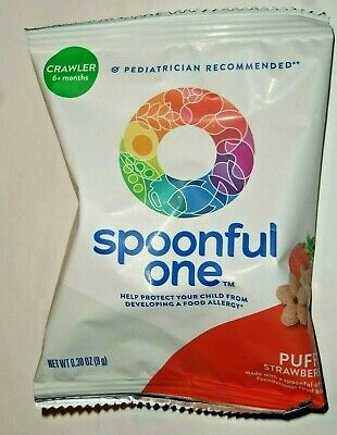 14 SpoonfulOne Crawler Daily Packs Strawberry Puffs >>>>BEST BY DATE 1/2020<<<<