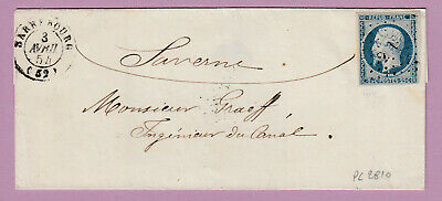 N°10 Pc 2810 Sarrebourg Meurthe Et Moselle Saverne Lettre Cover