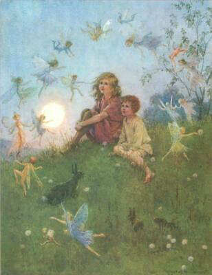 Margaret W Tarrant - DO YOU BELIEVE IN FAIRIES? - Medici Postcards - NEW Unused