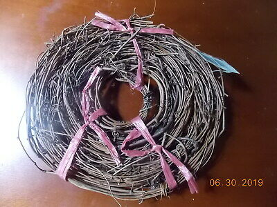 "Grapevine Wreath Twig Garland 3/4"" Thick 10 Feet"