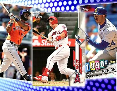 2020 Topps Series One Cards 1-200 Vets & Rookies Pick Your Cards Complete Set