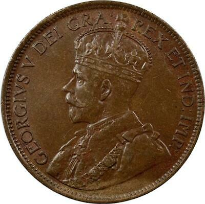 Canada - Cent - 1918 - King George V - Bronze