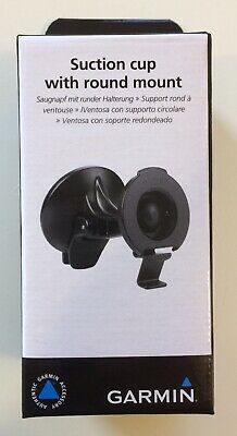 "Genuine Garmin Round Bracket Clip Mount for 4&5"" GPS - SEALED"
