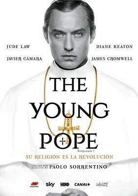 The Young Pope (El Joven Papa) Serie En Dvd Jude Law