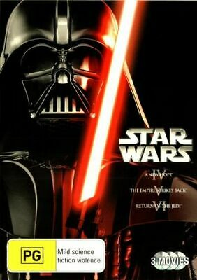 NEW Star Wars - The Original Trilogy  DVD Free Shipping