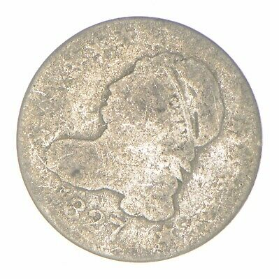 EARLY - 1827 - Capped Bust Dime - Eagle Reverse - TOUGH - US Type Coin *318