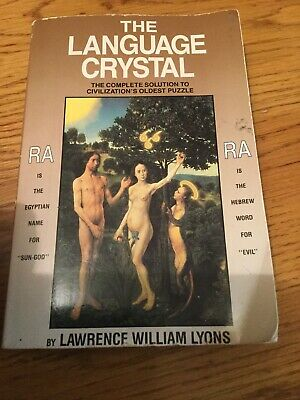 The Language Crystal Civilizations Oldest Puzzle Book By Lyons.