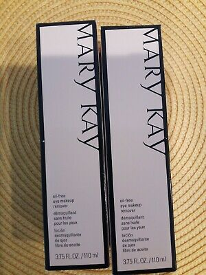 Mary Kay Oil-Free Eye Makeup Remover- 3.75 fl. oz. (2 PACK) FREE SHIPPING