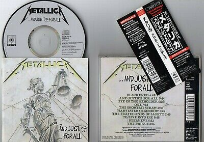 METALLICA / ...and Justice for All - '88, Japan obi ~Very Rare!!