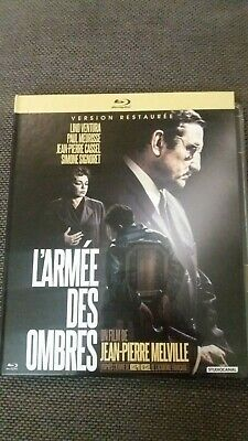 L armée des ombres blu ray ed francaise lino ventura jp melville Army Of Shadows