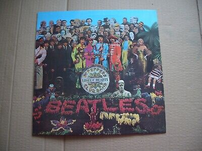 The Beatles - Sgt. Peppers Lonely Hearts Club Band - Vinyl Lp - Japan Pressing