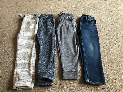 Boys Bundle Of TU, GAP, NEXT Jogging Bottoms / Jeans / Trousers Age 4-5 Years