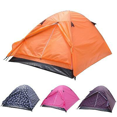 Azuma 2 Man Camping Tent Double Skin Dome Music Festival Outdoor Hiking Summer