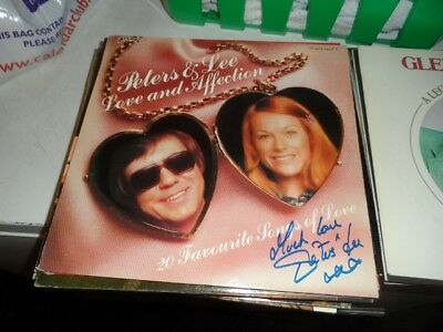 Peters And Lee Love And Affection Signed On Cover