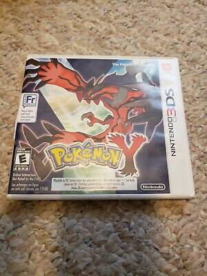 Pokemon Y (3DS) (Case & Game) (Tested)
