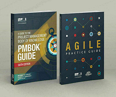 PMBOK Guide 6th Edition + Agile Practice Guide English Edition High Quality